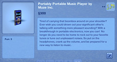 Portably Portable Music Player by Muse Inc.