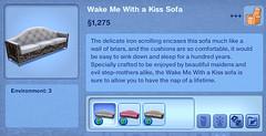 Wake Me With a Kiss Sofa
