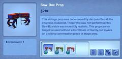 Saw Box Prop
