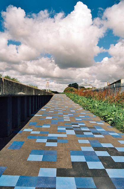 Technicolour Pathway, Nikon F5