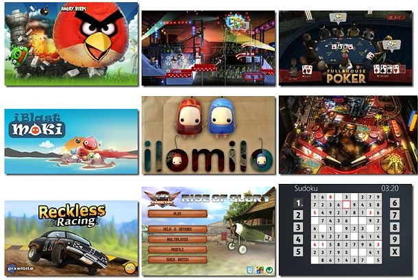 Windows 8 App Store Games