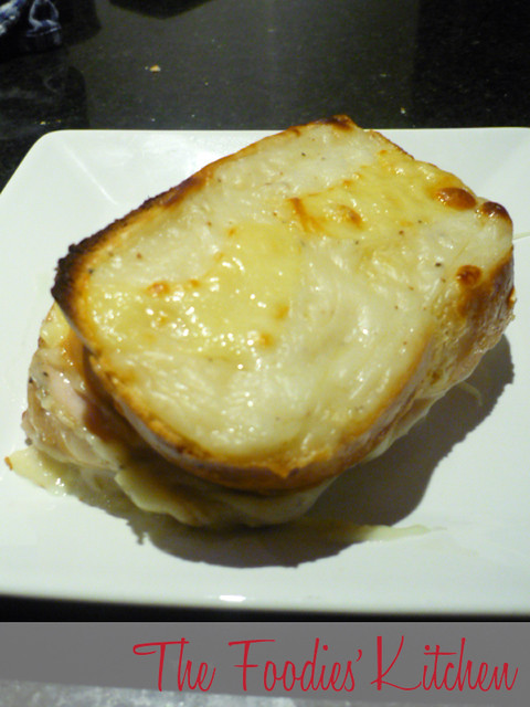 Guest Foodie: Iveth Bodensteiner de Villanueva's Croque Monsieur