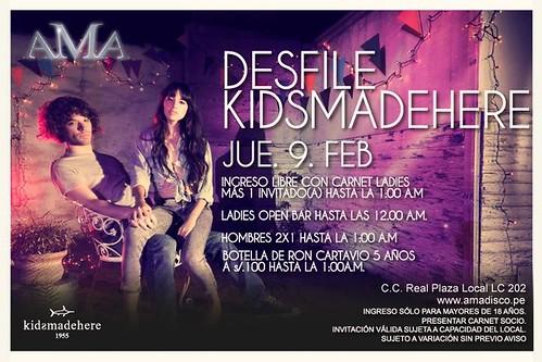 Desfile Kidsmadehere - AMA Disco Lounge
