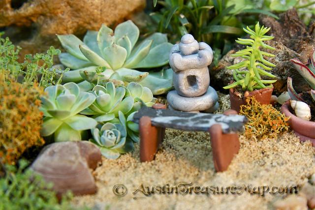 Miniature Zen Garden Central Detail Flickr Photo Sharing