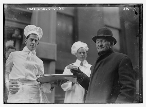 Bread Line, 41st St. (LOC) by The Library of Congress