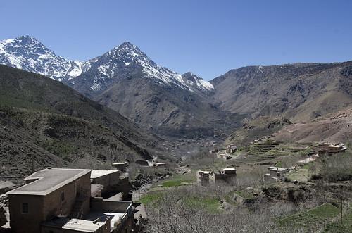 morocco toubkal tamatert kasbahsamra