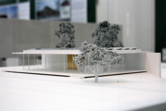 Model of house D10 by Werner Sobek