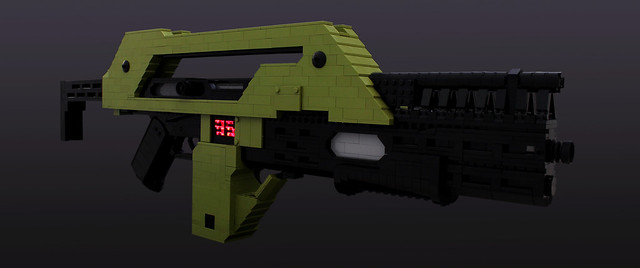 Aliens M41A Pulse Rifle - 01