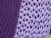 Lilac and Plum Kerchief by Dandelion Salad