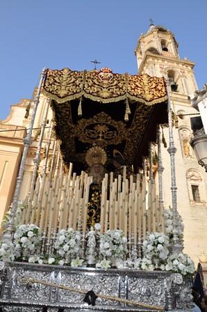 AionSur 13952699394_ee60d2579c_d Esperanza y Santo Entierro, corazones divididos en estaciones de penitencia que se unen Cultura Semana Santa