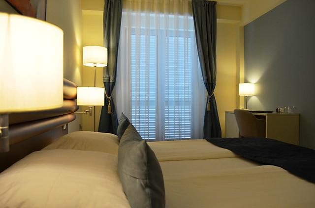 Bedroom, Hotel Korkyra, Vela Luka, Korcula, Croatia