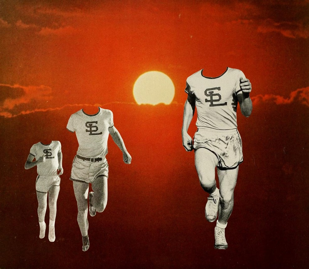 Outrun the Sun - Collage. Mikhail Siskoff