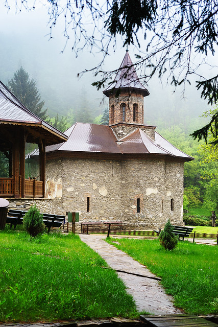 Church of the monastery Prislop