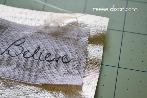 Believe Frame Step 4