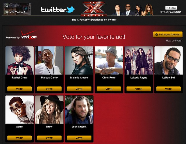 The X Factor™ Experience on Twitter