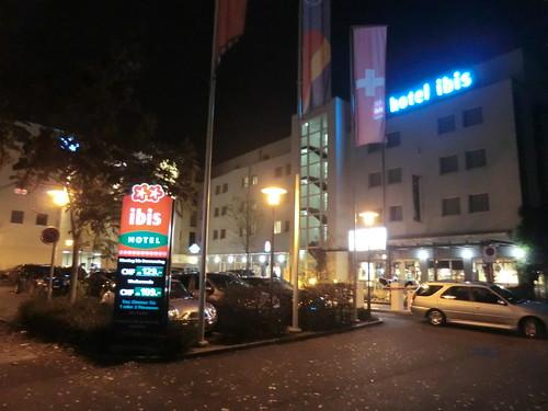 Hotel Ibis @ Winterthur in Switzerland