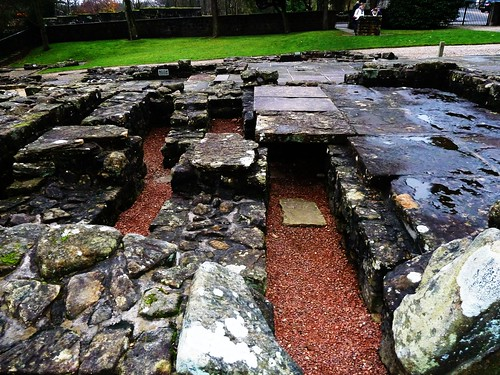 Section of Roman Baths at Bearsden