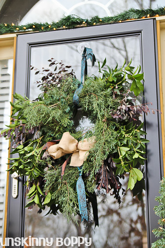 DIY Evergreen Christmas wreaths (10 of 16)