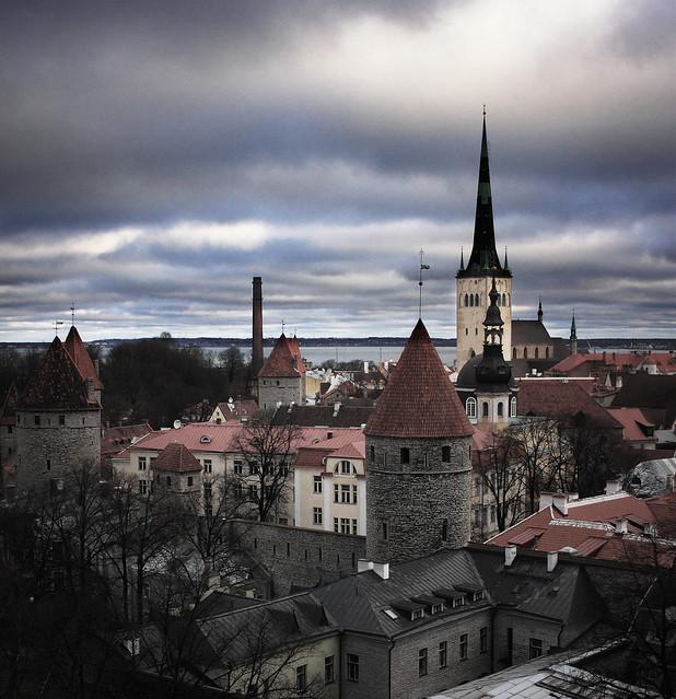 Old Town, Tallinn, Estonia by CC user karnad on Flickr