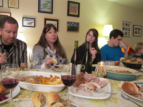 at thanksgiving