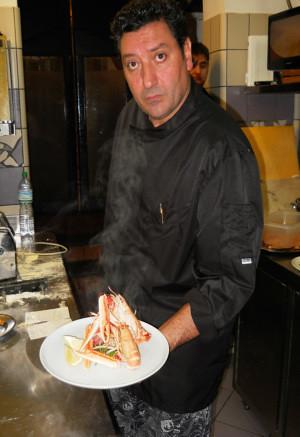 Mario Capozzi chef Ristorante Donna Sofia Sorrento Foto di Vincenzo Califano
