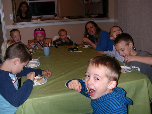 Nov 24 2011 Thanksgiving Day eating pie