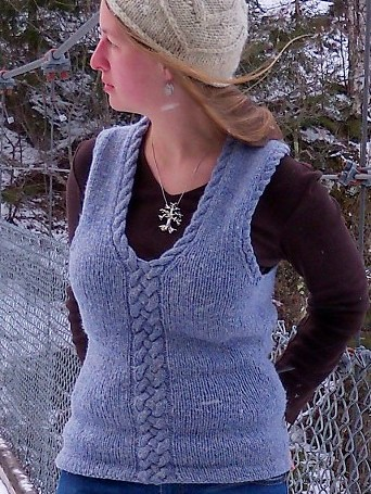 La Moelle vest pattern: $6 - buy now