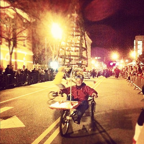 Athens Christmas Parade 2011 Bike Athens 2