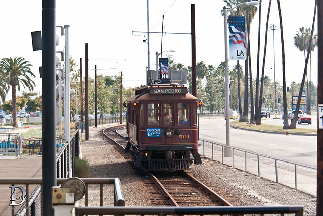 Pacific Electric Railway / Red Car Trolley - 501 Car