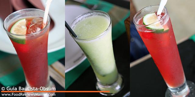 Josephine's drinks