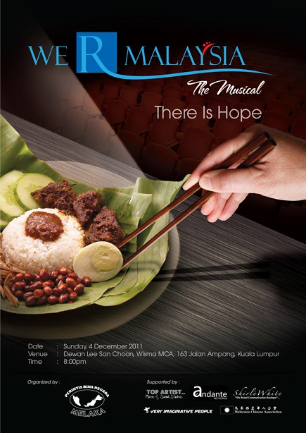 We R Malaysia The Musical_1 poster