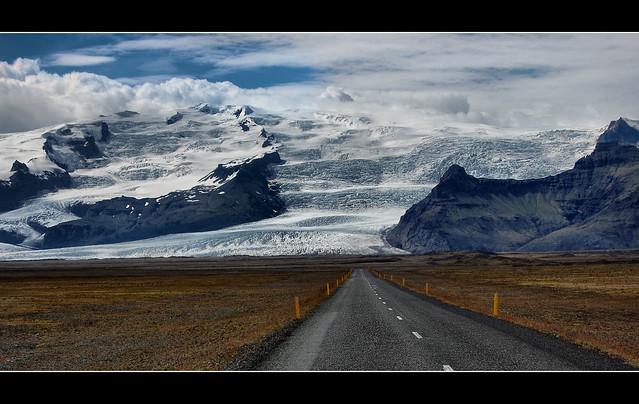 Iceland - Vatnajokull glacier