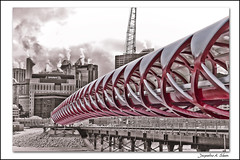 Peace Bridge 1 by Jacqueline A. Sheen Photography