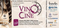 Mendoza: Vino el Cine en La Enoteca