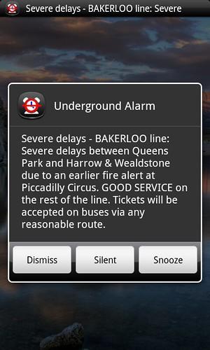 underground alarm