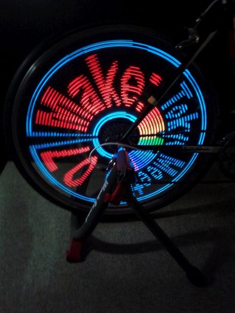 Blinken lights at Make Tokyo Meeting 07 #mtm07