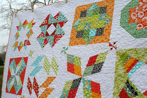 Summer Sampler quilt
