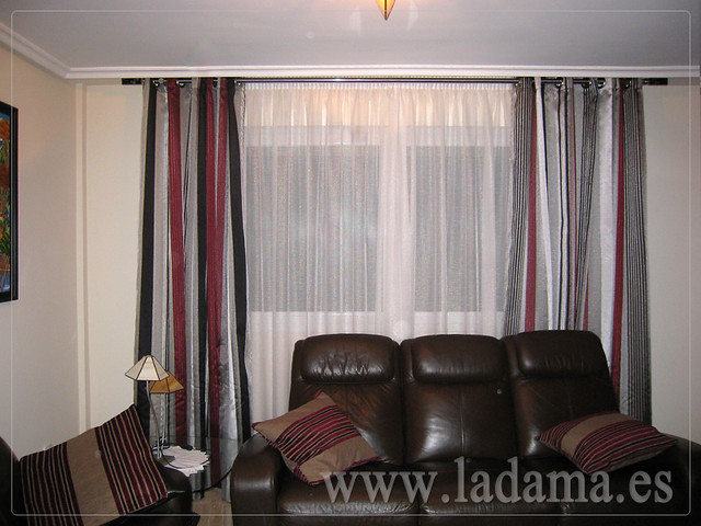 Photo - Cortinas y estores para salones ...
