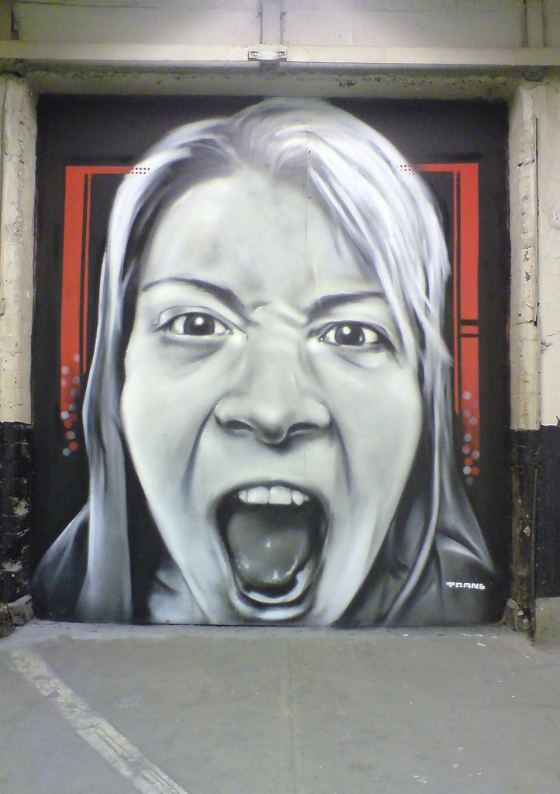 graffitis realistas