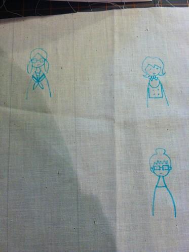 dec 2011: stitching in process