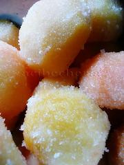 ciruelas con azucar