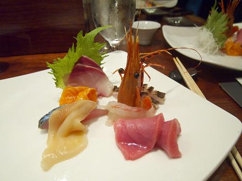 15 East - Sashimi plate