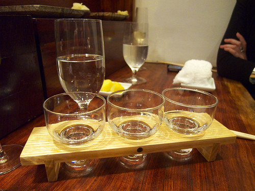 15 East - Sake tasting