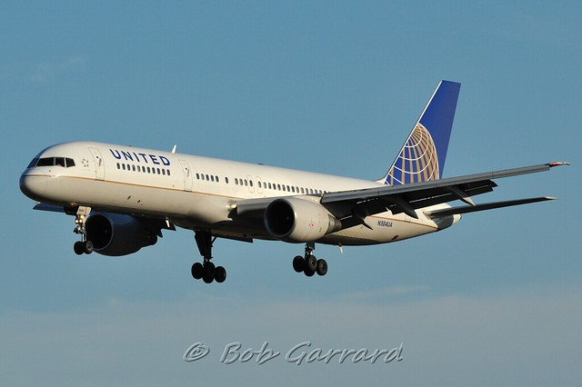 N504UA United Airlines QuotIndianapolis Coltsquot Charter