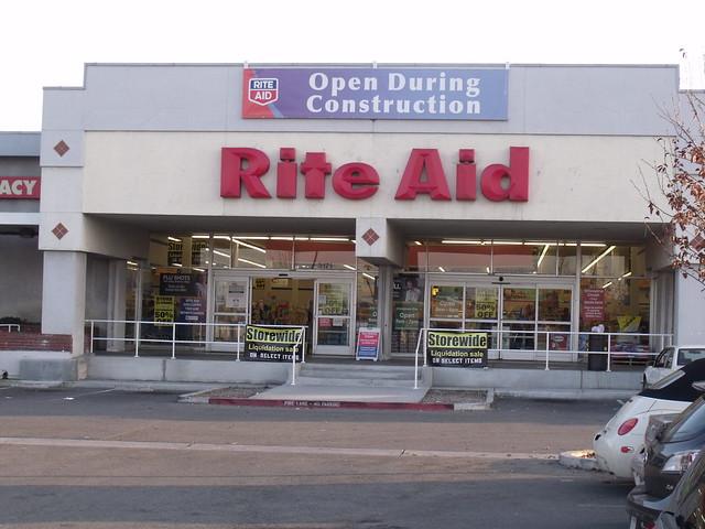 Rite Aid Hacienda Gardens Shopping Center San Jose