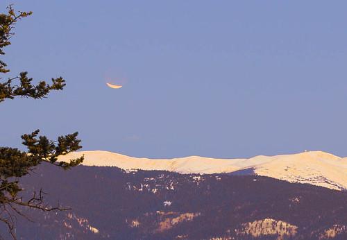 moon mountains sunrise eclipse colorado lunar divide contential lunareclipse2012