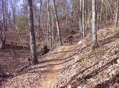 Travis Climbing