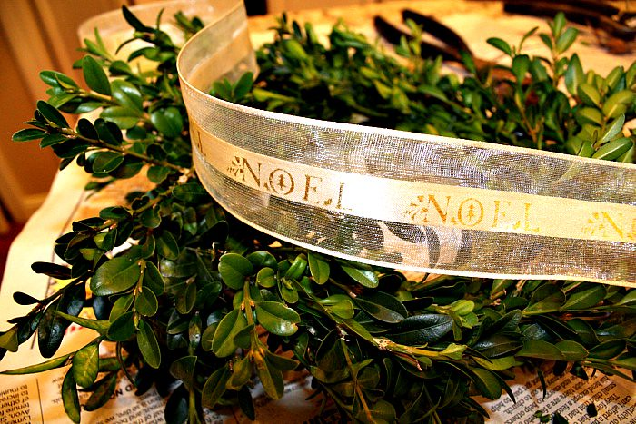 Boxwood Wreath 013