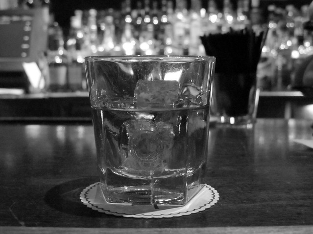 Knob Creek on the rocks