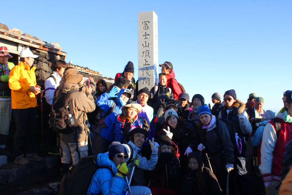 Mt. Fuji experience report (Yoshida route) Part3 (13)